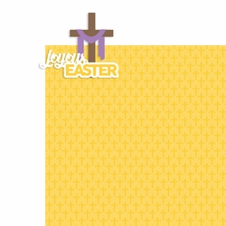 Easter: Joyous Easter 2 Piece Laser Die Cut Kit
