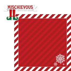 Elf: Mischievous 2 Piece Print and Cut Die Cut Kit