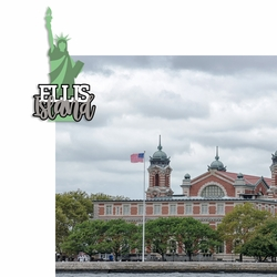 Ellis Island 2 Piece Laser Die Cut Kit