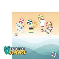Endless Summer 2 Piece Laser Die Cut Kit