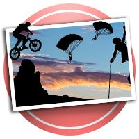 Extreme Sports Scrapbooking