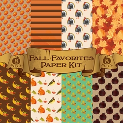 Fall Favorites Paper Kit