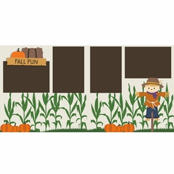 Fall Fun 2 Page Layout Kit