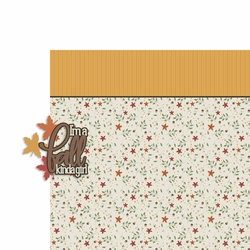 Fall kinda Girl 2 Piece Laser Die Cut Kit