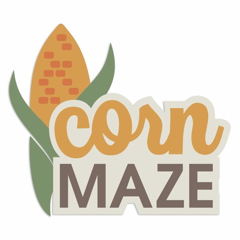 Fall Moments: Corn Maze Laser Die Cut