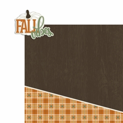 Fall Vibes 2 Piece Laser Die Cut Kit