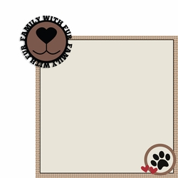 Family Fur 2 Piece Laser Die Cut Kit