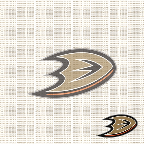 Fanatic: Anaheim Ducks 12 x 12 Paper