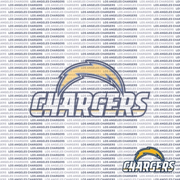 Fanatic: Los Angeles Chargers 12 x 12 Paper