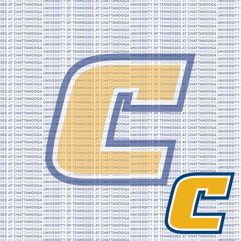 Fanatic: University of Tennessee at Chattanooga 12 x 12 Paper