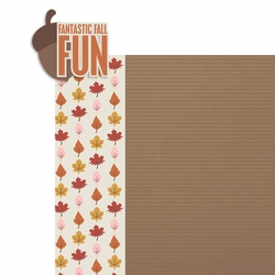 Fantastic Fall 2 Piece Laser Die Cut Kit