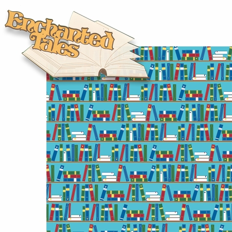 Fantasy Land: Enchanted Tales 2 Piece Laser Die Cut Kit