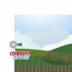 Farm: Country Livin' 2 Piece Laser Die Cut Kit