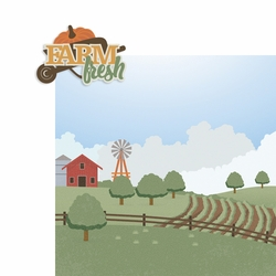 Farm Fresh 2 Piece Laser Die Cut Kit