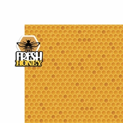 Farm: Fresh Honey 2 Piece Laser Die Cut Kit