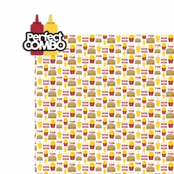 Fast Food: Perfect Combo 2 Piece Laser Die Cut Kit