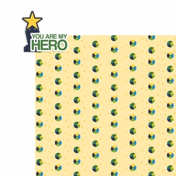 Father's Day: Hero 2 Piece Laser Die Cut Kit