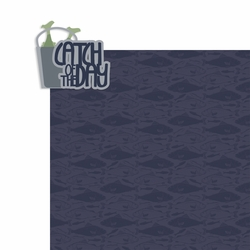 Fishing: Catch of the Day 2 Piece Laser Die Cut Kit
