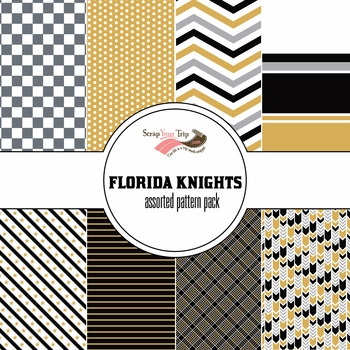 Florida Knights: Assorted 12 x 12 Paper Pack