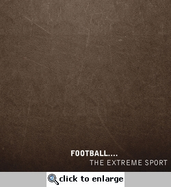Football Extreme Sport 12 x 12 Paper