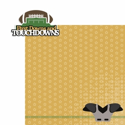 Football: First Down and Touchdowns 2 Piece Laser Die Cut Kit
