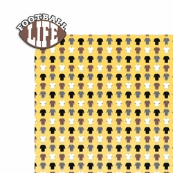 Football: Footbal Life 2 Piece Laser Die Cut Kit