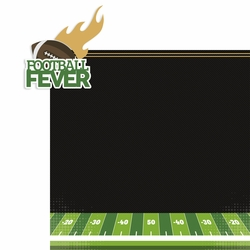 Football: Football Fever 2 Piece Laser Die Cut Kit