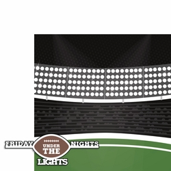Football: Friday nights 2 Piece Laser Die Cut Kit