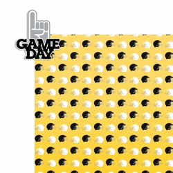 Football: Game Day 2 Piece Laser Die Cut Kit