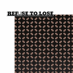 Football: Refuse to Lose 2 Piece Laser Die Cut Kit