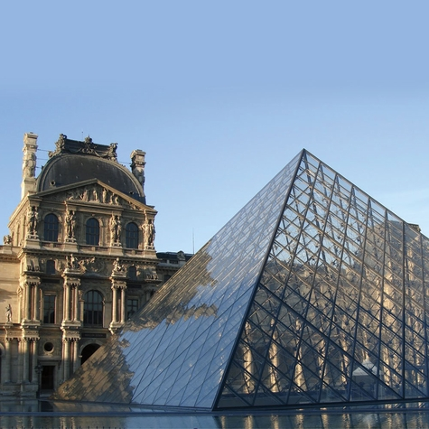 France: The Louvre 12 x 12 Paper