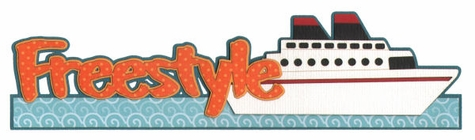 2SYT Freestyle with Cruise Ship Laser Die Cut