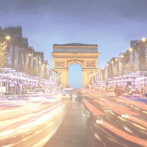 French Adventures: City of Lights 12 x 12 Paper