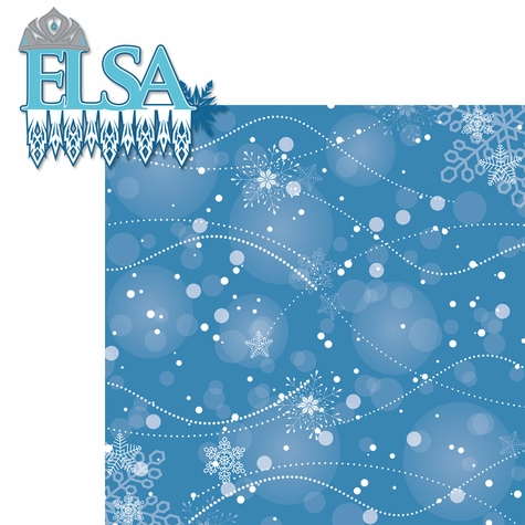 Frozen: Elsa 2 Piece Laser Die Cut Kit