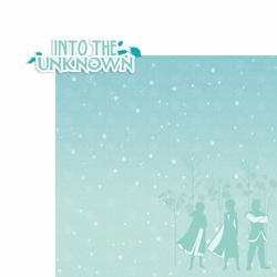 Frozen: Into the unknown 2 Piece Laser Die Cut Kit