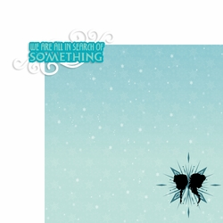 Frozen: We are all in search of something 2 Piece Laser Die Cut Kit