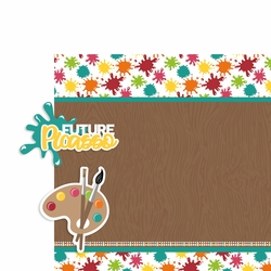 Future Picasso 2 Piece Print and Cut Kit