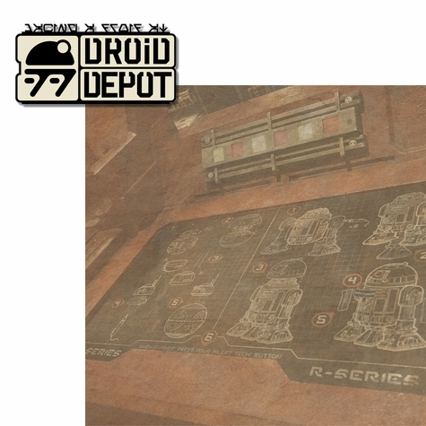 Galaxy's Edge: Droid Depot 2 Piece Laser Die Cut Kit