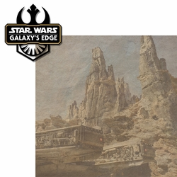 Galaxy's Edge: Galaxy's Edge 2 Piece Laser Die Cut Kit