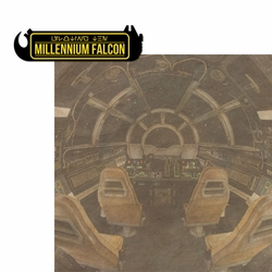 Galaxy's Edge: Millennium Falcon 2 Piece Laser Die Cut Kit