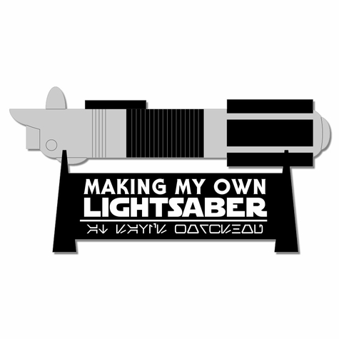 Galaxy's Edge: My Own Lightsaber Laser Die Cut