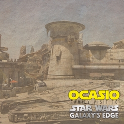 Galaxy's Edge: Our Visit Custom 12 x 12 Paper
