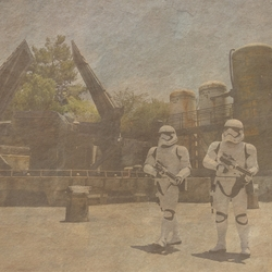 Galaxy's Edge: The First Order 12 x 12 Paper