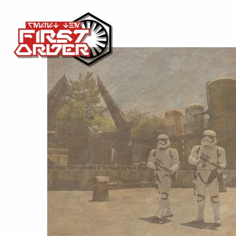 Galaxy's Edge: The First Order 2 Piece Laser Die Cut Kit