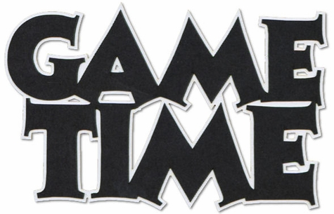Game Time 2-Layer Laser Title Cut