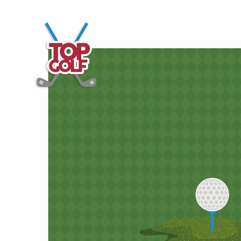 Games: Top Golf 2 Piece Laser Die Cut Kit