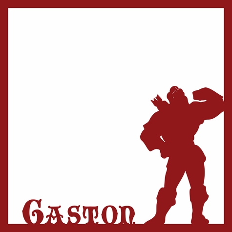 Gaston 12 x 12 Overlay Laser Die Cut