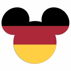 Germany mouse head Laser Die Cut