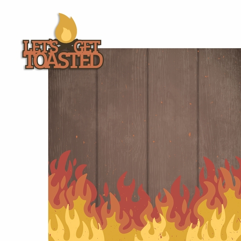 Get Toasted 2 Piece Laser Die Cut Kit