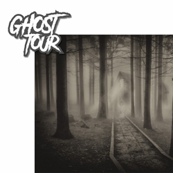 Ghost Tour 2 Piece Laser Die Cut Kit